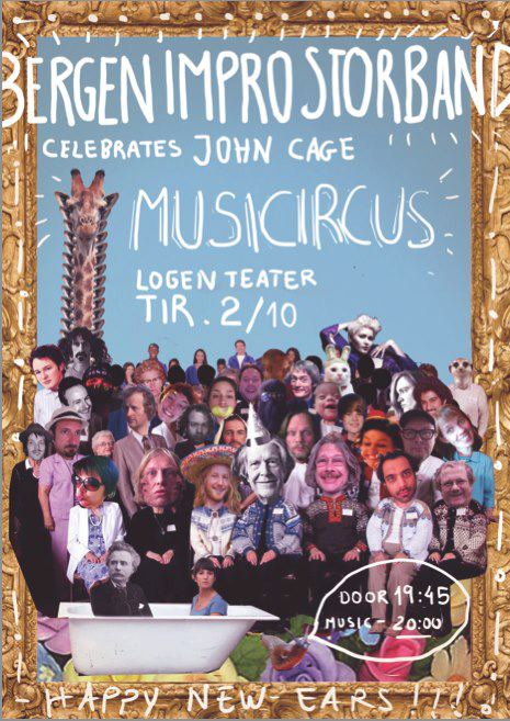 BIS celebrates John Cage: Musicircus at Logen, Bergen